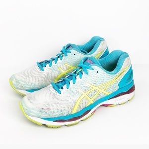 Asics Gel-Nimbus 18 Running Shoes T650N-0107 Sz 9